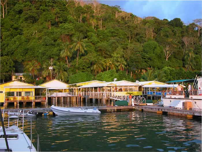 Banana Bay Marina in Golfito