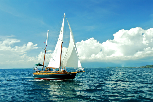 Sailing in Costa Rica