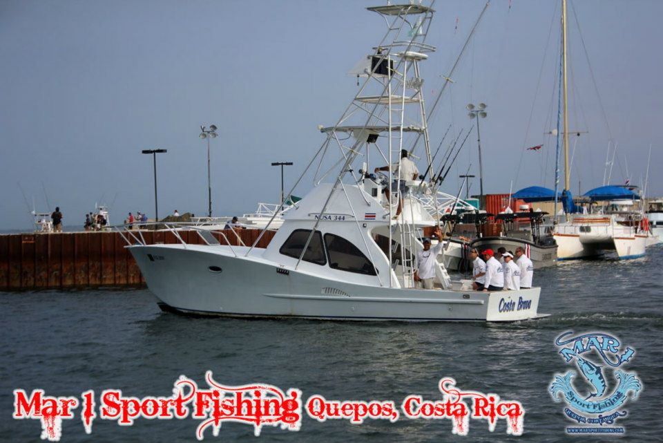 Mar1 Sportfishing in Quepos
